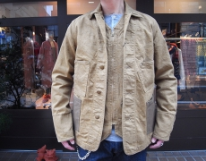 NIGEL CABOURN  WORKERS JACKET 12oz DENIM