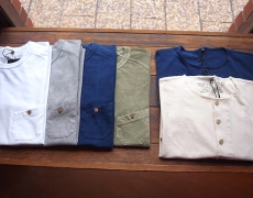 Nigel Cabourn BASIC T-SHIRTS /BASIC HENLY