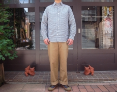 Nigel Cabourn BRITISH OFFICER'S SHIRT