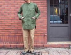 Nigel Cabourn  LONG SHIRT WEATHER CLOTH