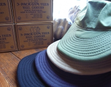 Nigel Cabourn LYBRO USMC CAP/3-PACK GYM TEES