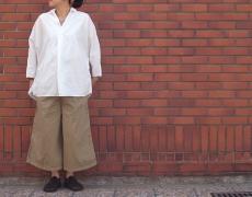 KAPITAL ドビーOXグッドモーニングプルシャツ/コンパクトチノグルカガウチョパンツ