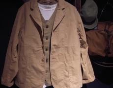 KAPITAL リップストップ ホスピタルジャケット