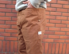 SASSAFRAS Fall Leaf Frame Pants(Duck)