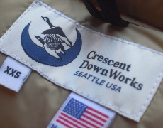 SP Crescent Down Works Italian Vest