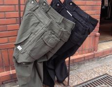 SASSAFRAS Digs Crew Pants 4/5(Back Satin)