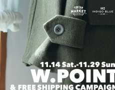 W.POINT&FREE SHIPPING CAMPAIGN