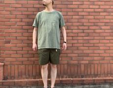 Nigel Cabourn NEW BASIC T-SHIRT / 50'S HENLEY NECK SHIRT