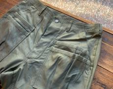 SASSAFRAS Overgrown Fatigue Pants (Back Satin)