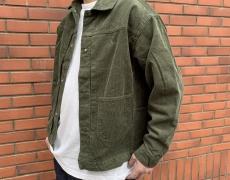 SASSAFRAS Gardener Jacket 14W Corduroy / 14oz Old Denim